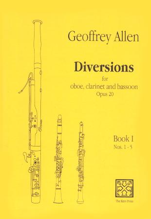 DIVERSIONS Op.20 Book 1 Nos.1-5