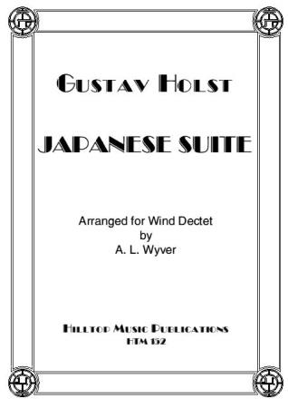 JAPANESE SUITE (score & parts)