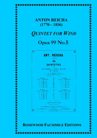WIND QUINTET Op.99 No.5