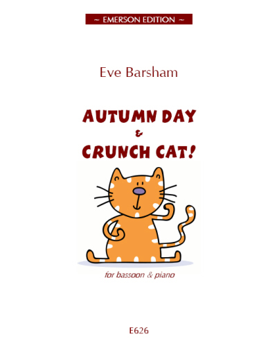 AUTUMN DAY and CRUNCH CAT!