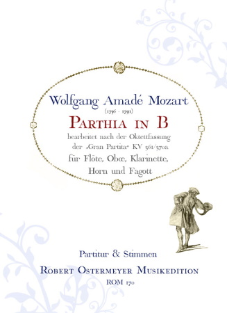 PARTHIA in Bb major (after K361) (score & parts)