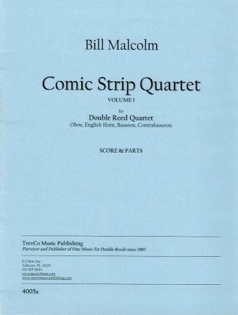 COMIC STRIP QUARTET Volume 1
