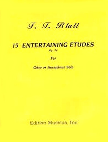 15 ENTERTAINING ETUDES Op.24