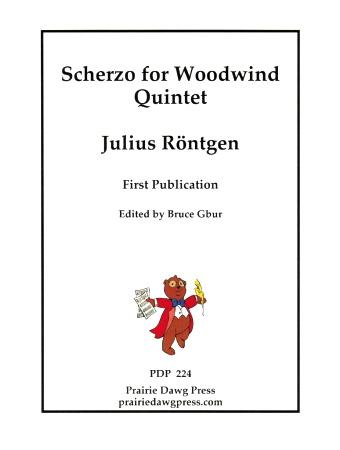 SCHERZO score & parts