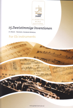 15 TWO-PART INVENTIONS (Eb Edition)