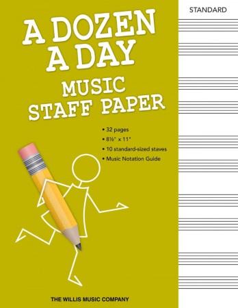 A DOZEN A DAY Manuscript Paper