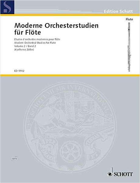 MODERNE ORCHESTERSTUDIEN Volume 2