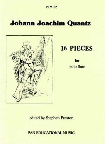 16 PIECES for Solo Flute