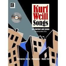 KURT WEILL SONGS + CD