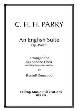 AN ENGLISH SUITE Op. Posth. (score & parts)