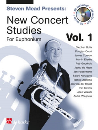 NEW CONCERT STUDIES FOR EUPHONIUM  Volume 2 + CD (bass clef)