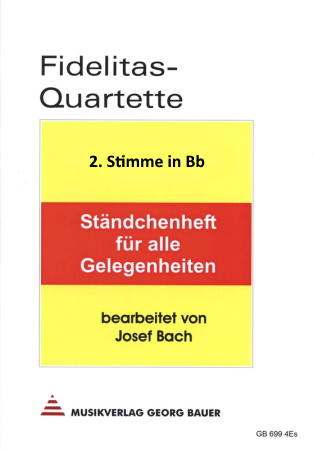 FIDELITAS QUARTETTE Part 2 in Bb