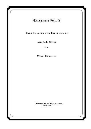 QUARTET No.5 in Eb