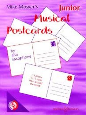 JUNIOR MUSICAL POSTCARDS + CD