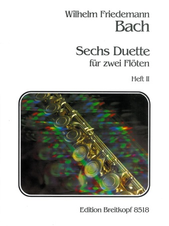 SIX DUETS FOR TWO FLUTES Volume 2