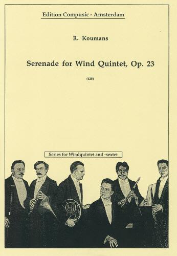 SERENADE Op.23 (score & parts)