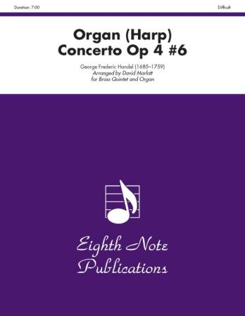 ORGAN (HARP) CONCERTO Op.4 No.6