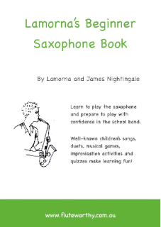 LAMORNA'S BEGINNER SAXOPHONE BOOK