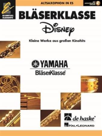 WIND CLASS DISNEY Alto Saxophone + Online Audio