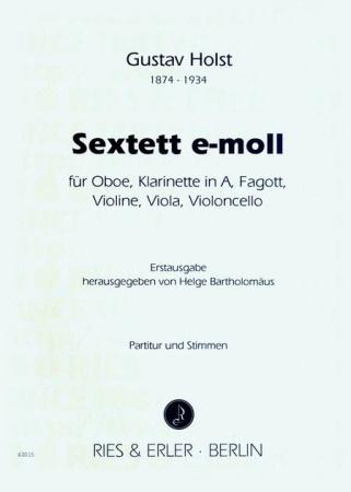 SEXTET in E minor (score & parts)