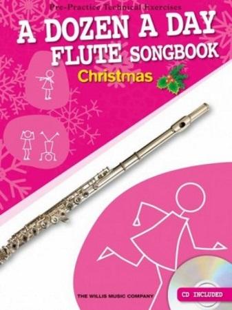 A DOZEN A DAY FLUTE SONGBOOK Christmas + CD