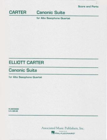 CANONIC SUITE (score & parts)