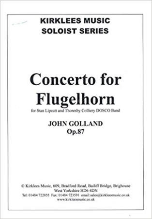 CONCERTO FOR FLUGELHORN Op.87