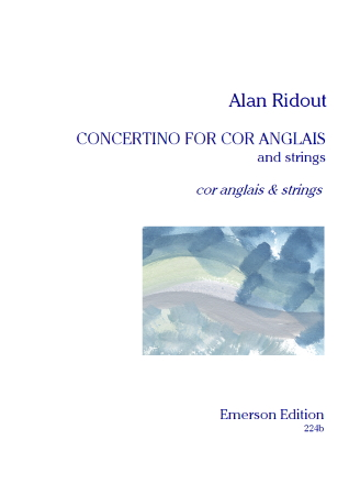CONCERTINO FOR COR ANGLAIS set of parts