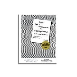 BASIC JAZZ CONCEPTION Volume 2 + CD