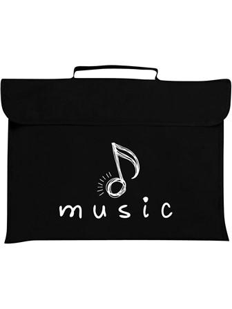 MUSIC BAG Quaver (Black)
