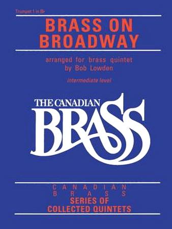 BRASS ON BROADWAY trumpet 2 part