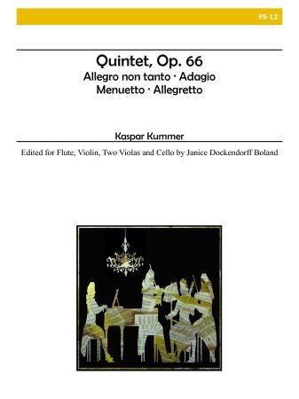 FLUTE QUINTET, Op.66