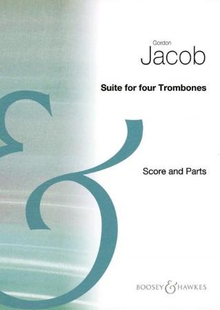 SUITE FOR FOUR TROMBONES (score & parts)