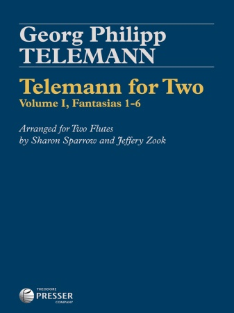 TELEMANN FOR TWO Volume 1