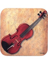 DRINKS COASTER Violin