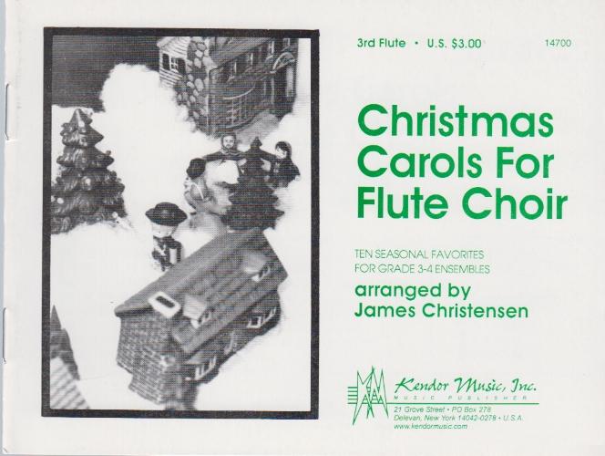 CHRISTMAS CAROLS FOR FLUTE CHOIR Flute 3