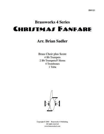 CHRISTMAS FANFARE (score & parts)