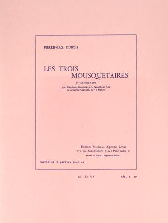 LES TROIS MOUSQUETAIRES score & parts
