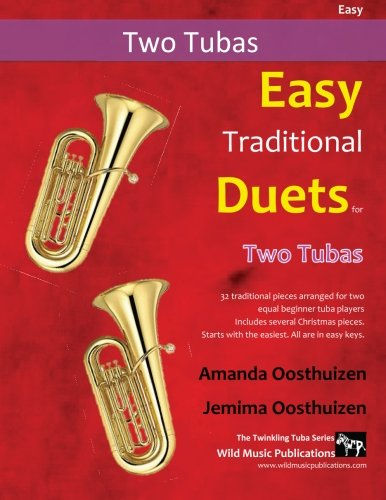 EASY TRADITIONAL DUETS for Two Tubas