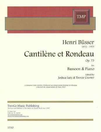 CANTILENE ET RONDO Op.75