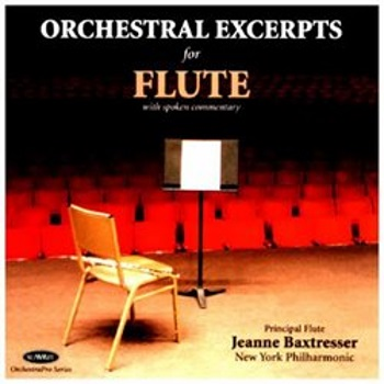 ORCHESTRAL EXCERPTS FOR FLUTE CD