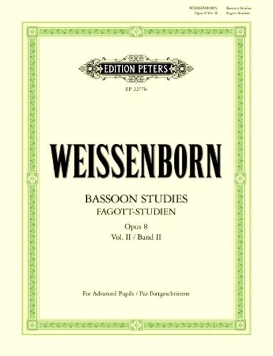 BASSOON STUDIES Op.8 Volume 2