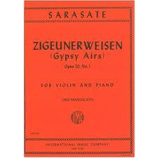 ZIGEUNERWEISEN Op.20 No.1 (Gypsy Airs)