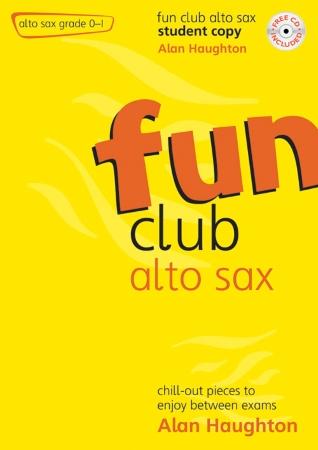 FUN CLUB ALTO SAX Grade 0-1 Student Copy + CD