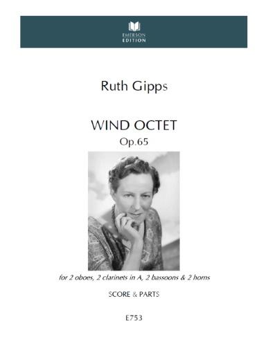WIND OCTET Op.65 (score & parts)