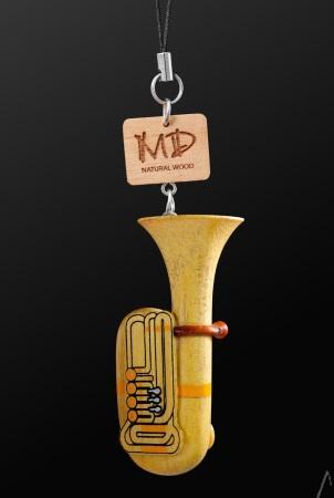 WOODEN STRAP Tuba (3D)