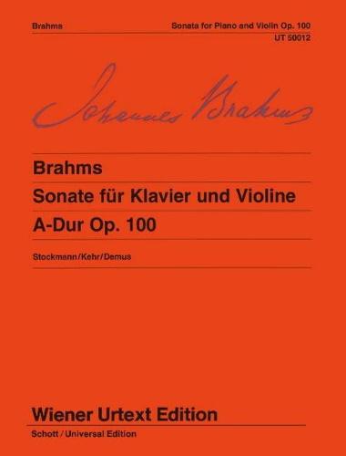 SONATA in A major, Op.100