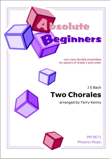 TWO CHORALES (score & parts)