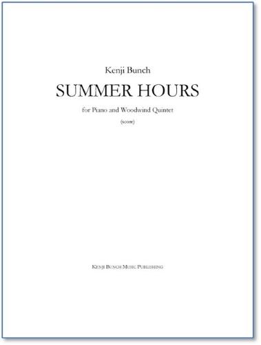 SUMMER HOURS (score & parts)
