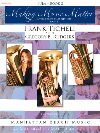 MAKING MUSIC MATTER Book 2 Tuba (bass clef)